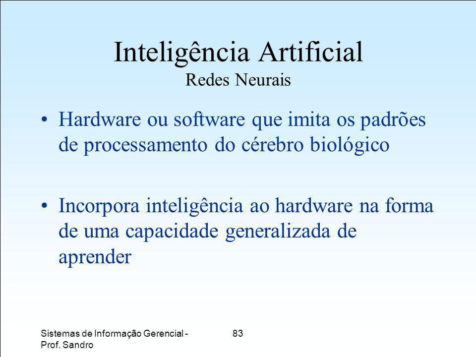 Inteligência Artificial Redes Neurais
