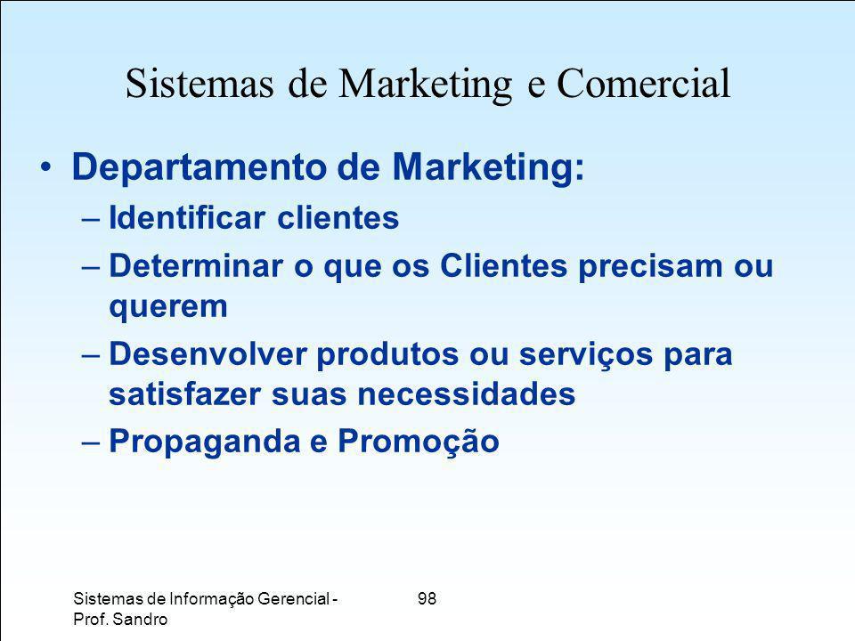 Sistemas de Marketing e Comercial
