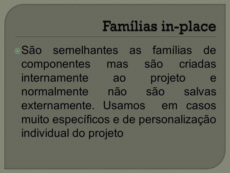 Famílias in-place