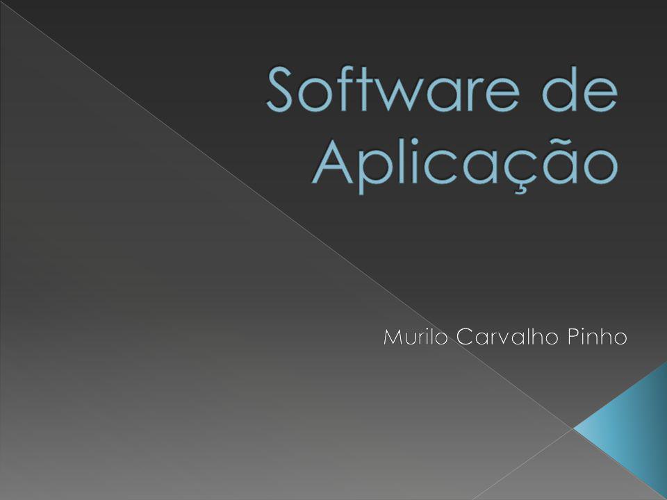 Software de Aplicação Murilo Carvalho Pinho