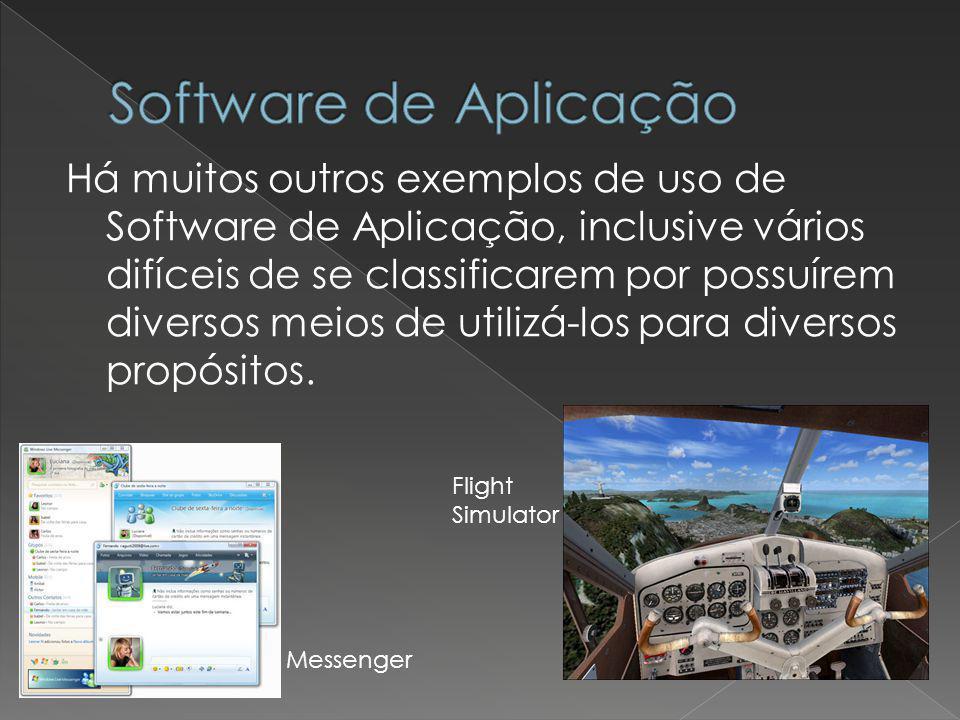 Software de Aplicação
