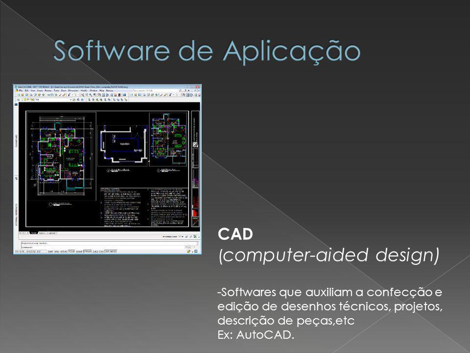 Software de Aplicação CAD (computer-aided design)