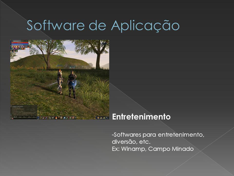 Software de Aplicação Entretenimento