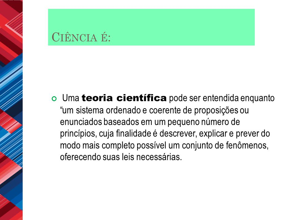 Ciência é: