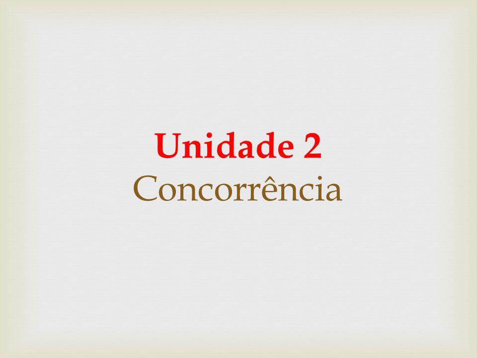 Unidade 2 Concorrência