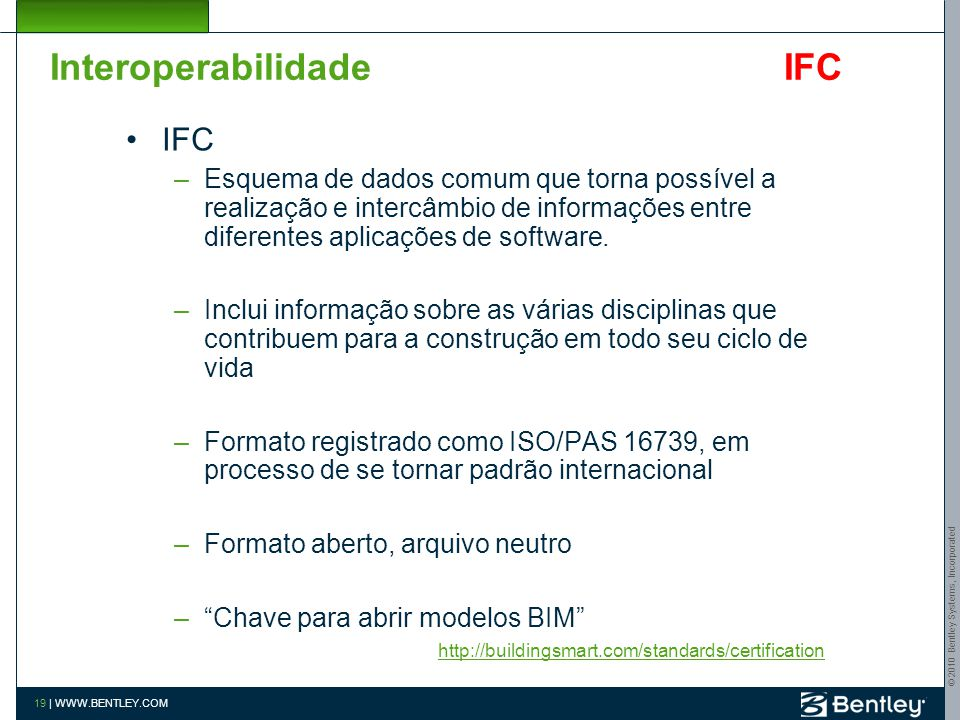 Interoperabilidade IFC
