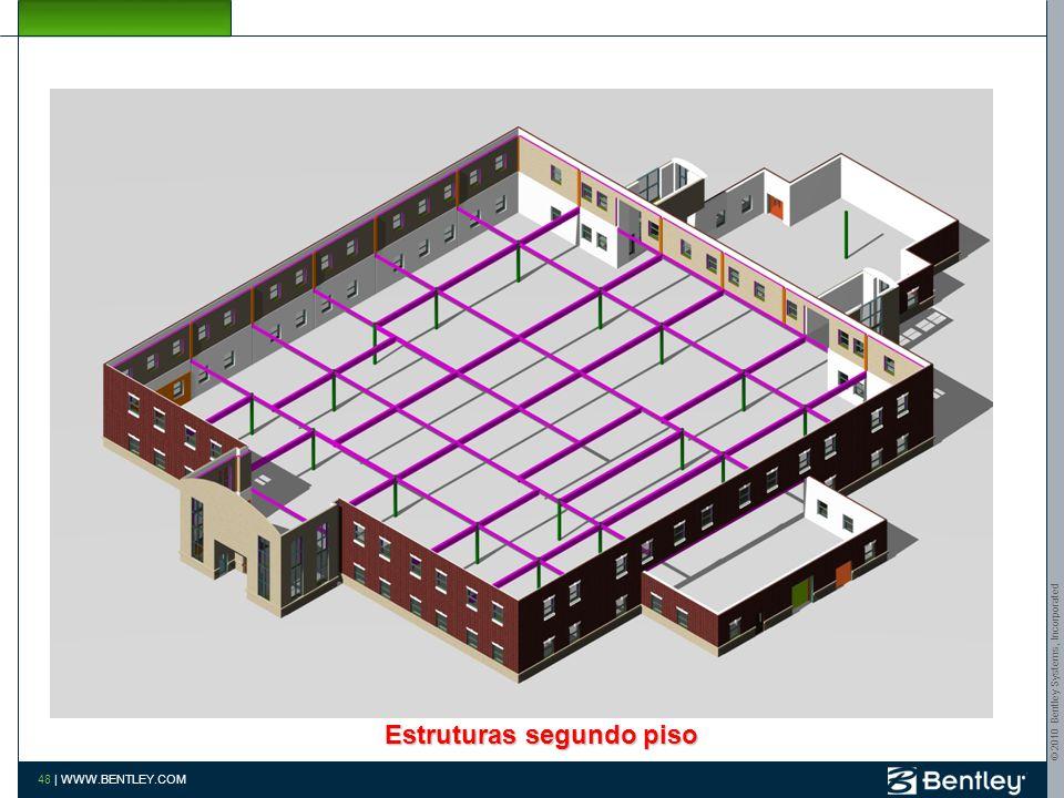 Estruturas segundo piso