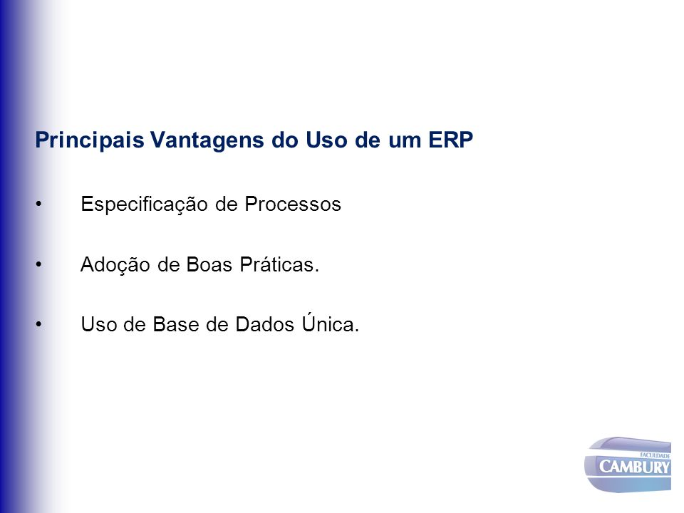 Principais Vantagens do Uso de um ERP