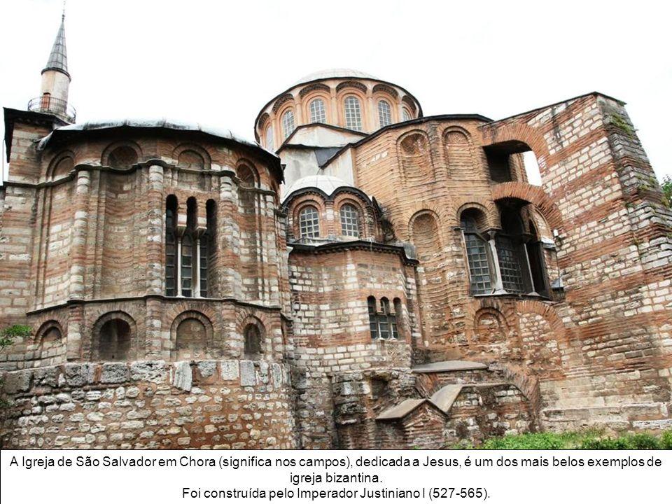 Foi construída pelo Imperador Justiniano I (527-565).