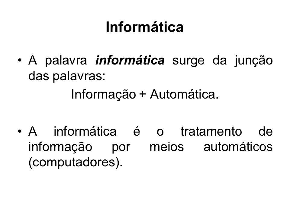 Informação + Automática.