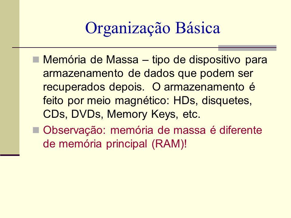 Organização Básica
