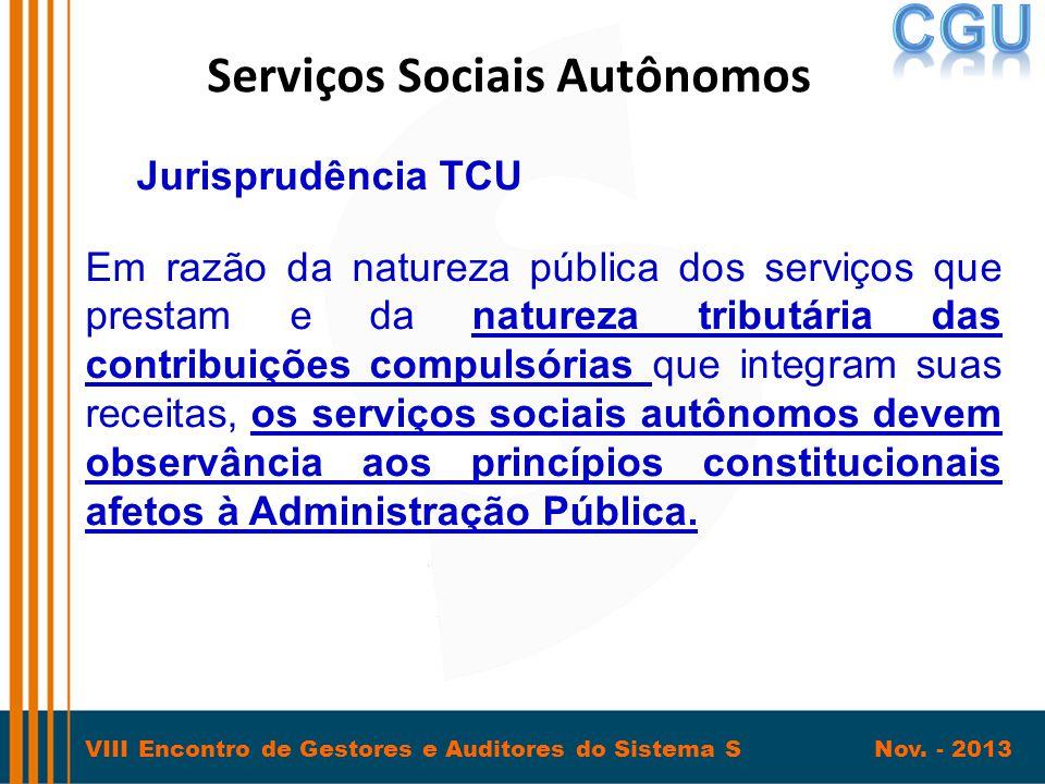 Serviços Sociais Autônomos