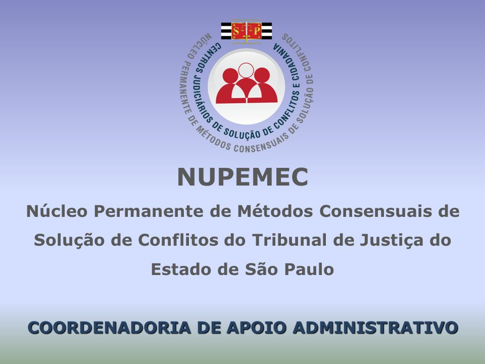 COORDENADORIA DE APOIO ADMINISTRATIVO