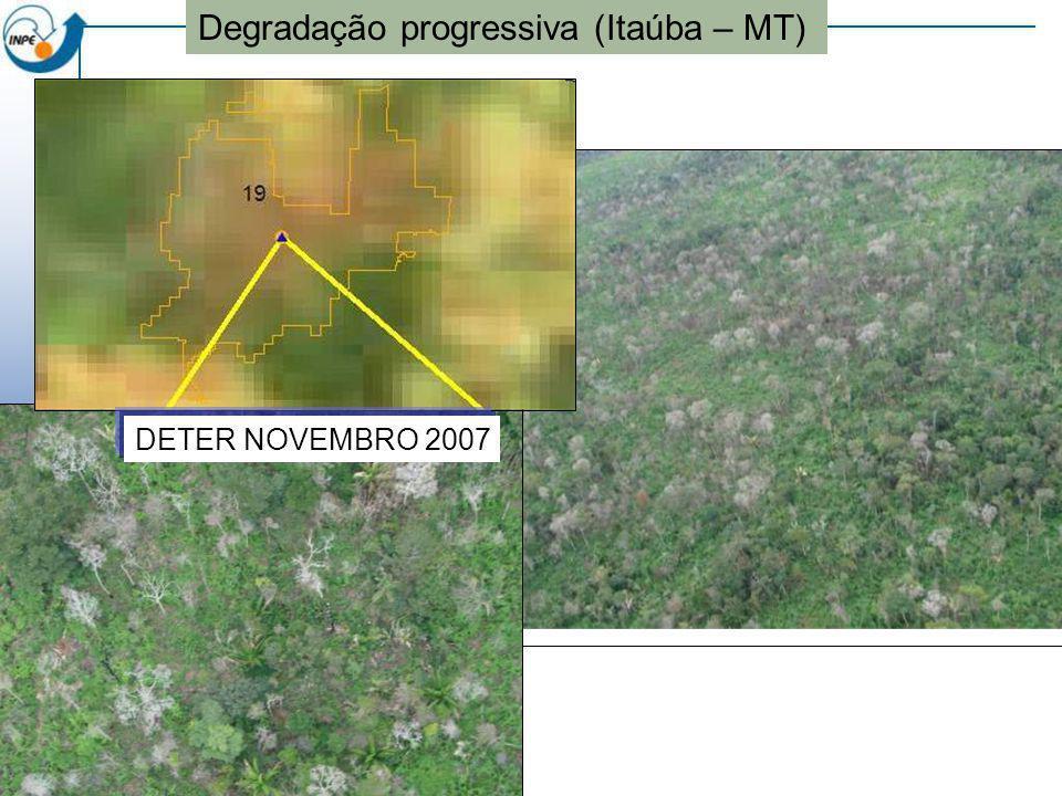 Degradação progressiva (Itaúba – MT)