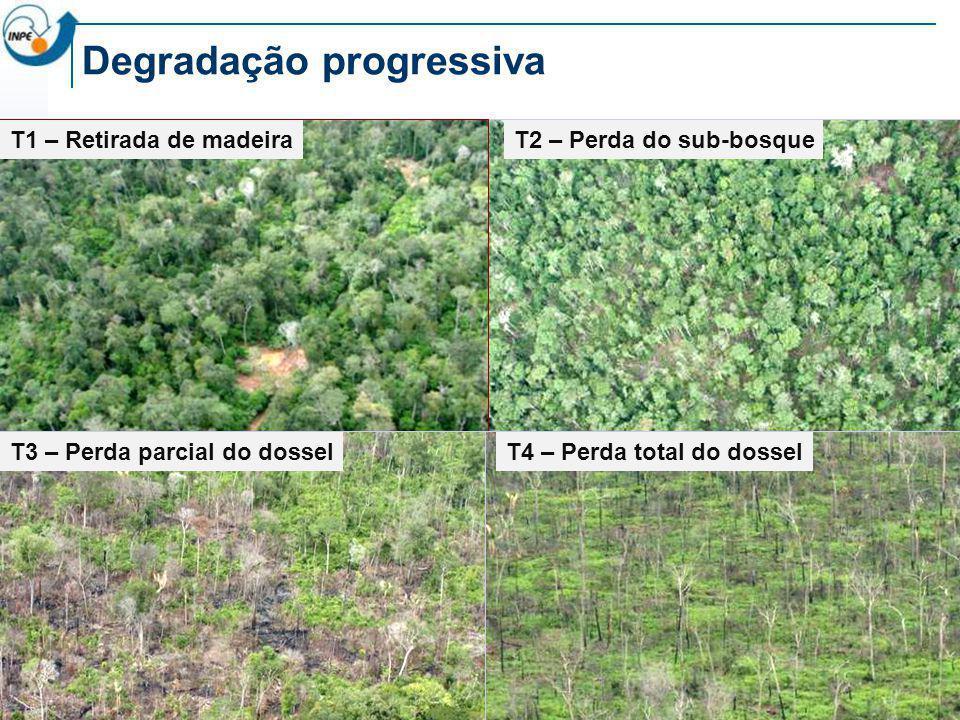 Degradação progressiva