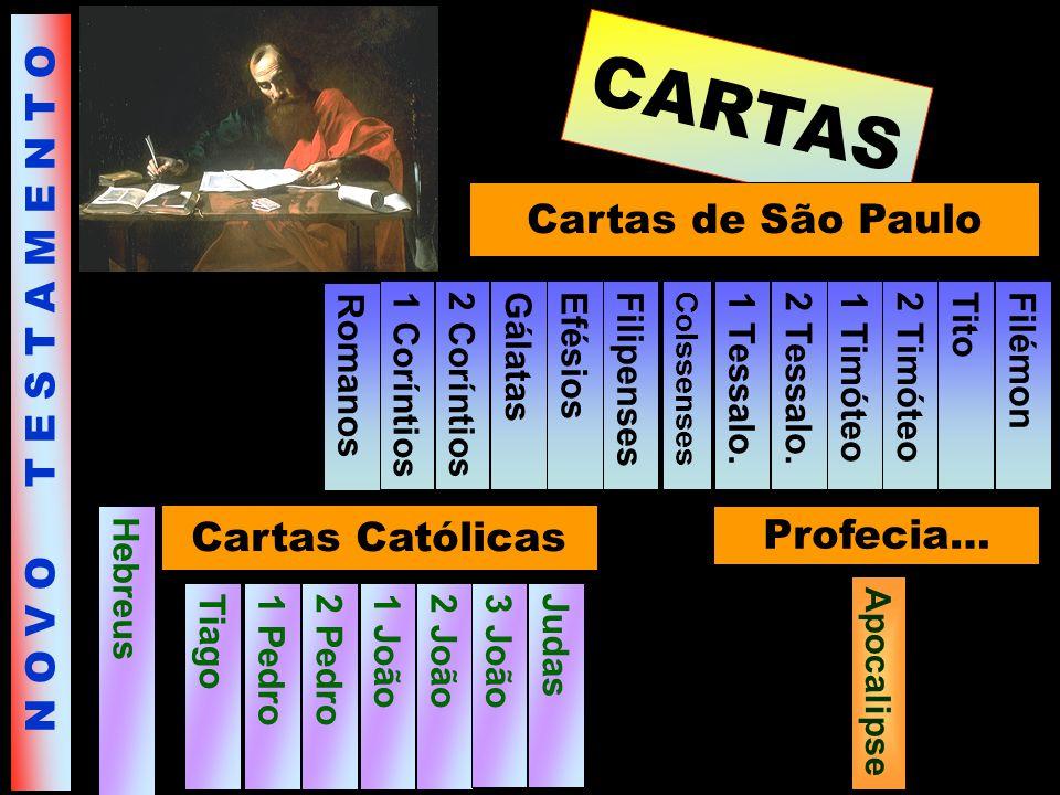 CARTAS Cartas de São Paulo N O V O T E S T A M E N T O