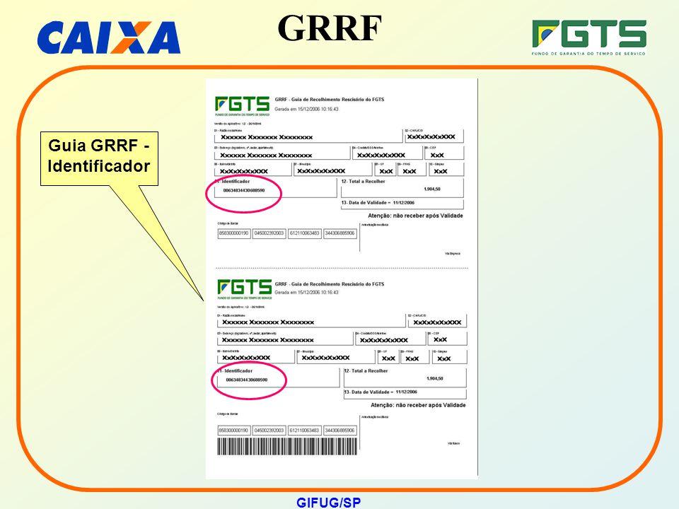 Guia GRRF - Identificador