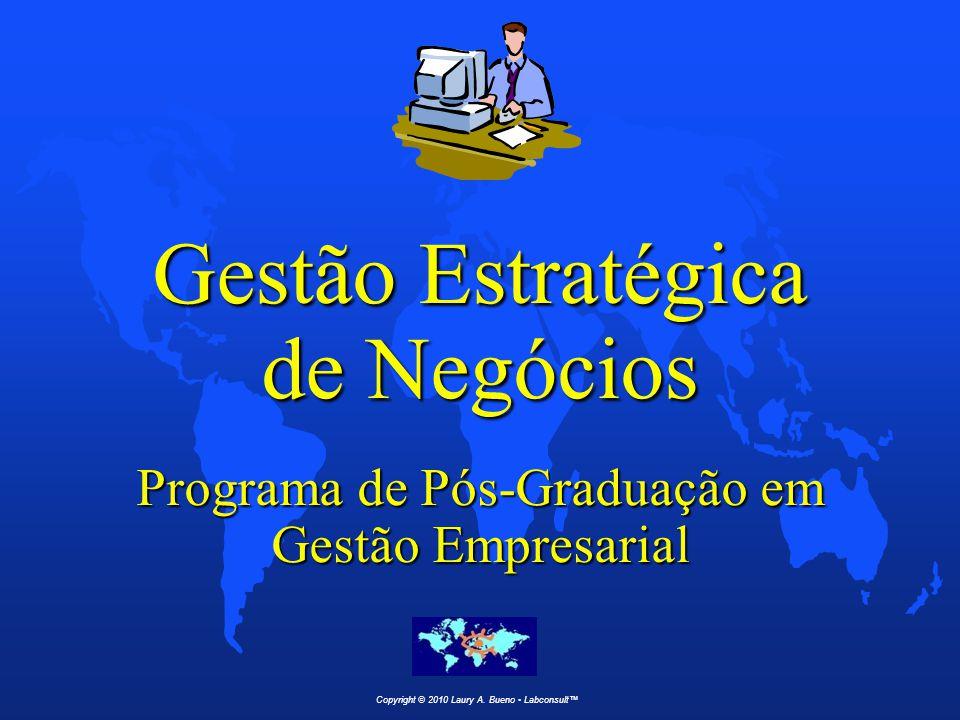 Gestão Estratégica de Negócios Programa de Pós-Graduação em Gestão Empresarial