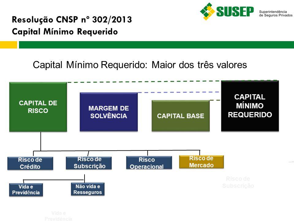CAPITAL MÍNIMO REQUERIDO