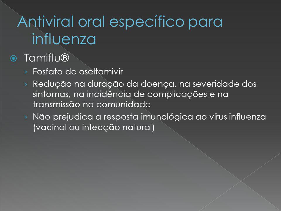 Antiviral oral específico para influenza