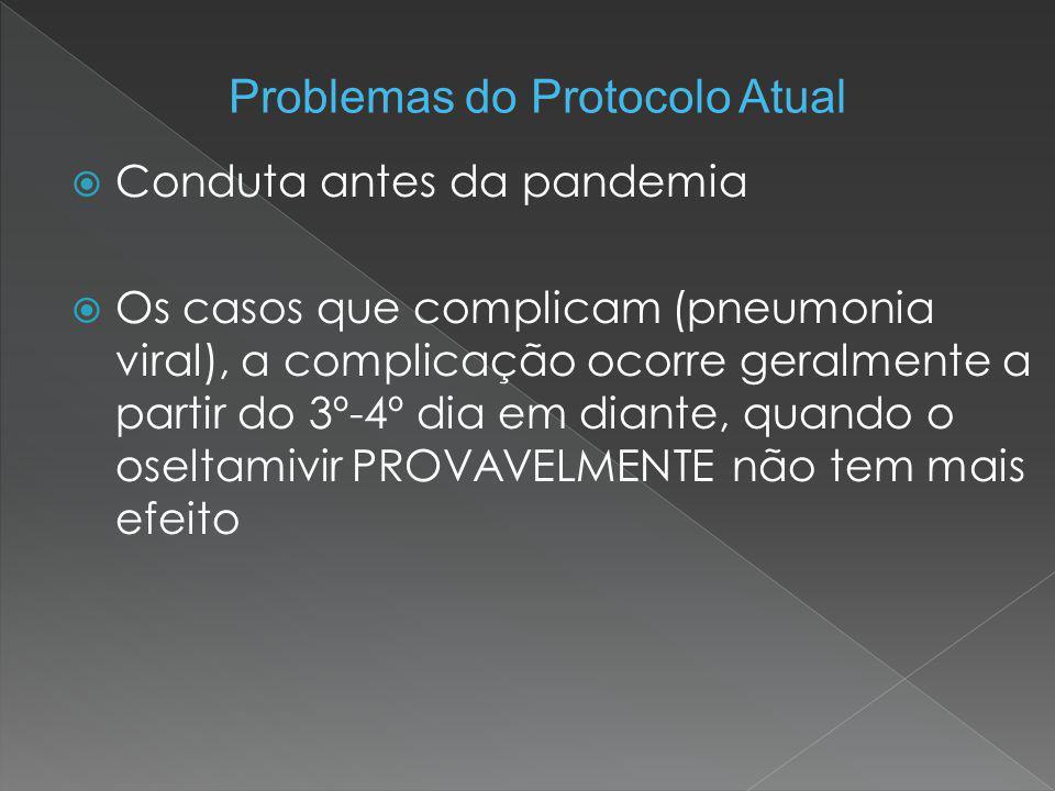 Problemas do Protocolo Atual