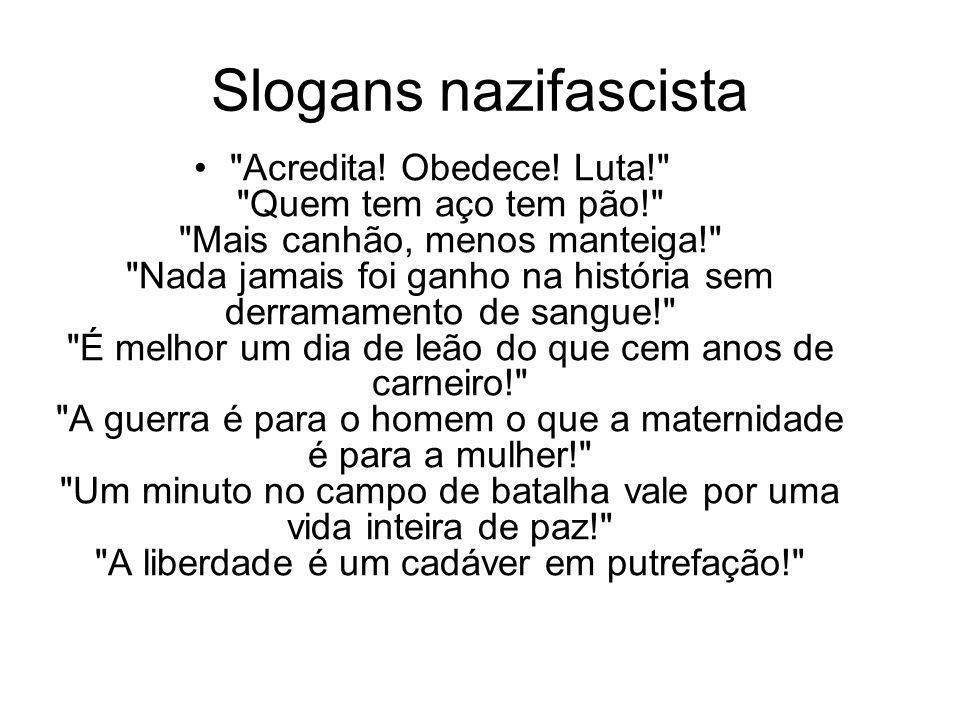 Slogans nazifascista