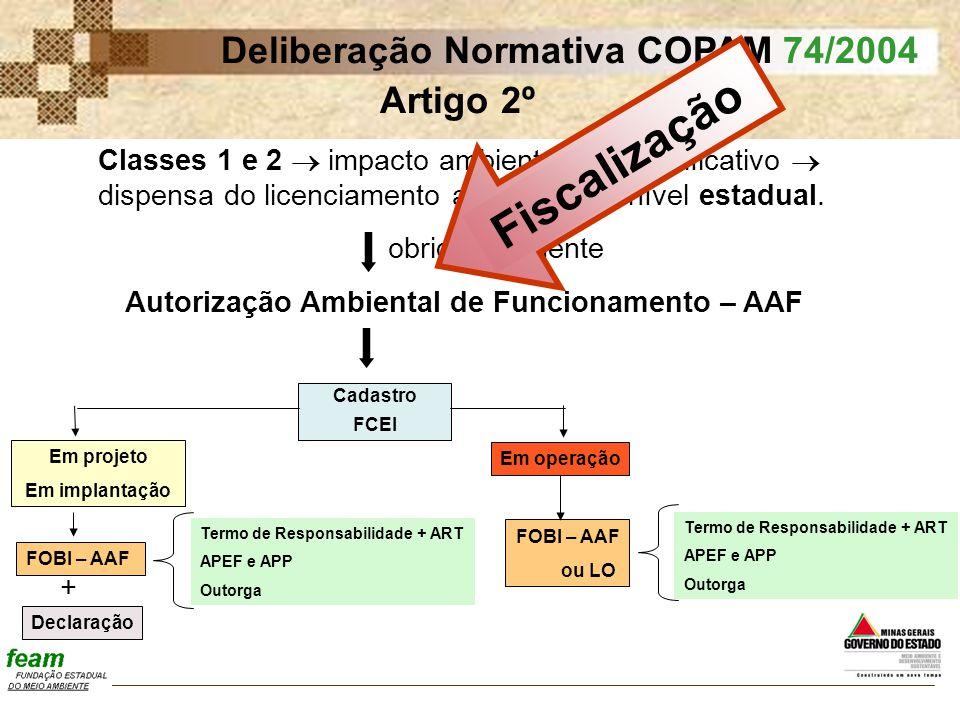 Autorização Ambiental de Funcionamento – AAF