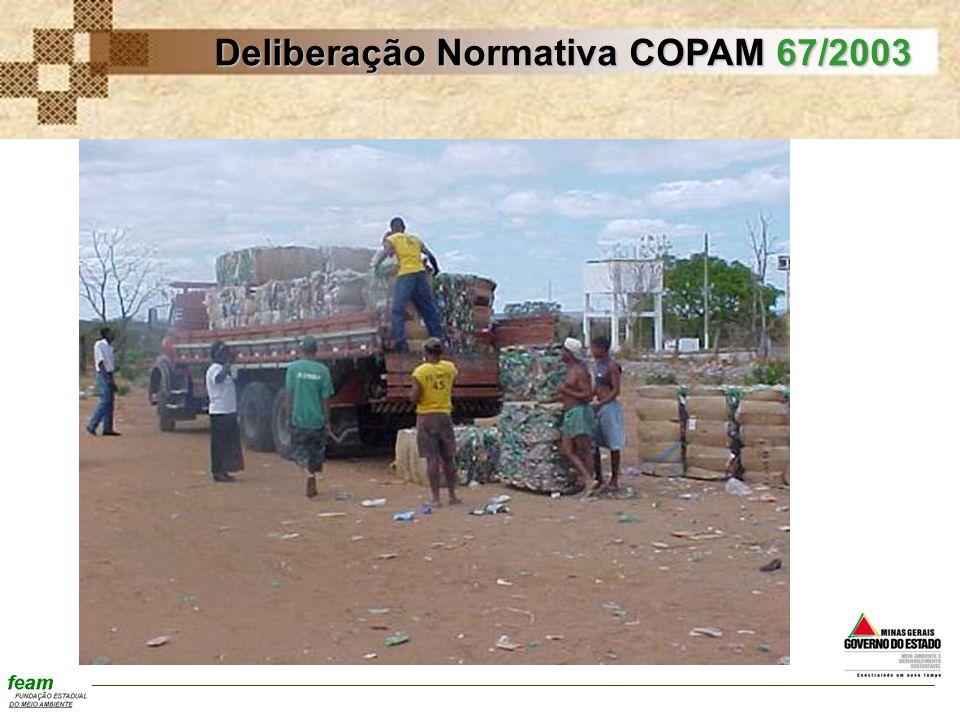 Deliberação Normativa COPAM 67/2003