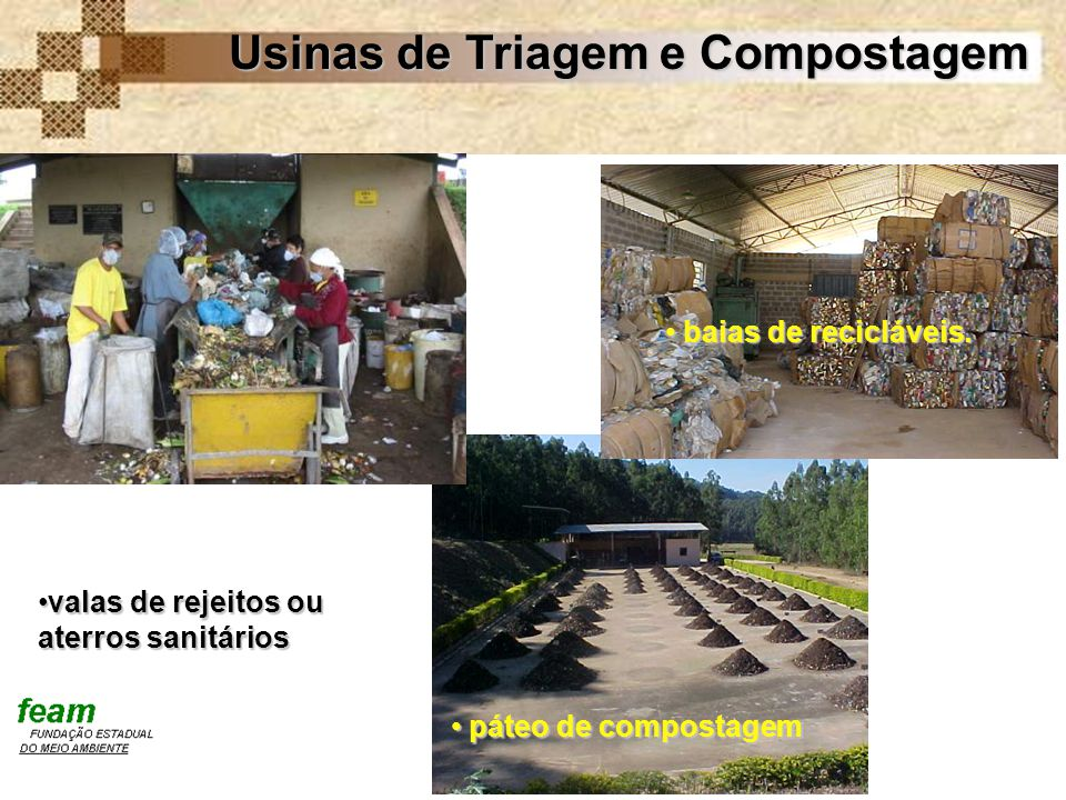 Usinas de Triagem e Compostagem