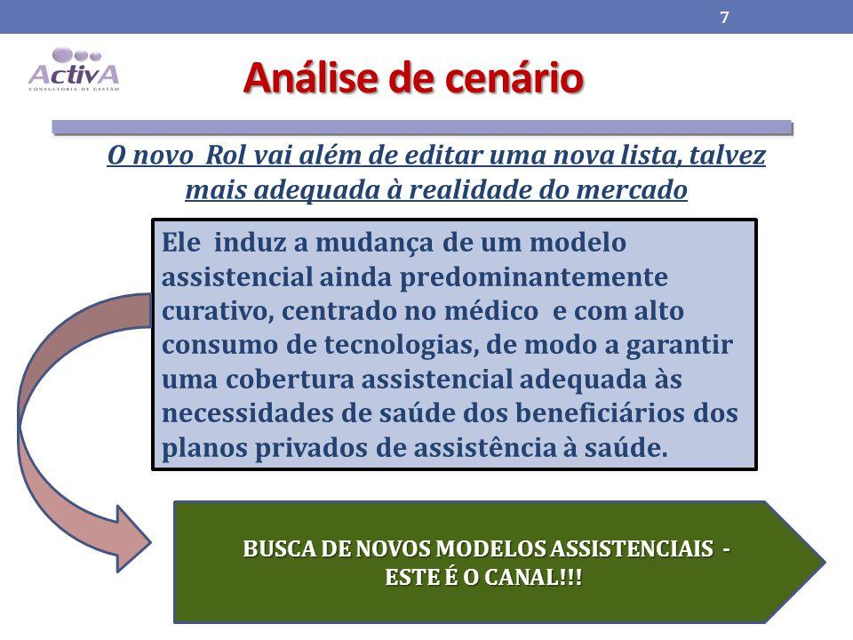 BUSCA DE NOVOS MODELOS ASSISTENCIAIS -