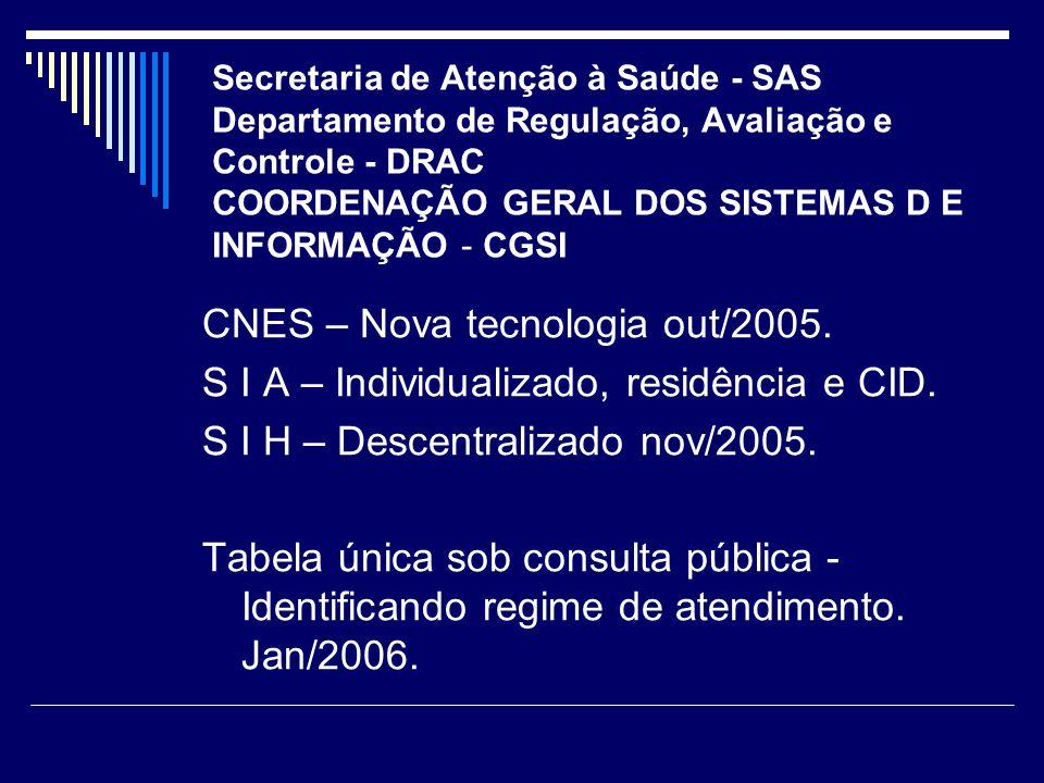 CNES – Nova tecnologia out/2005.