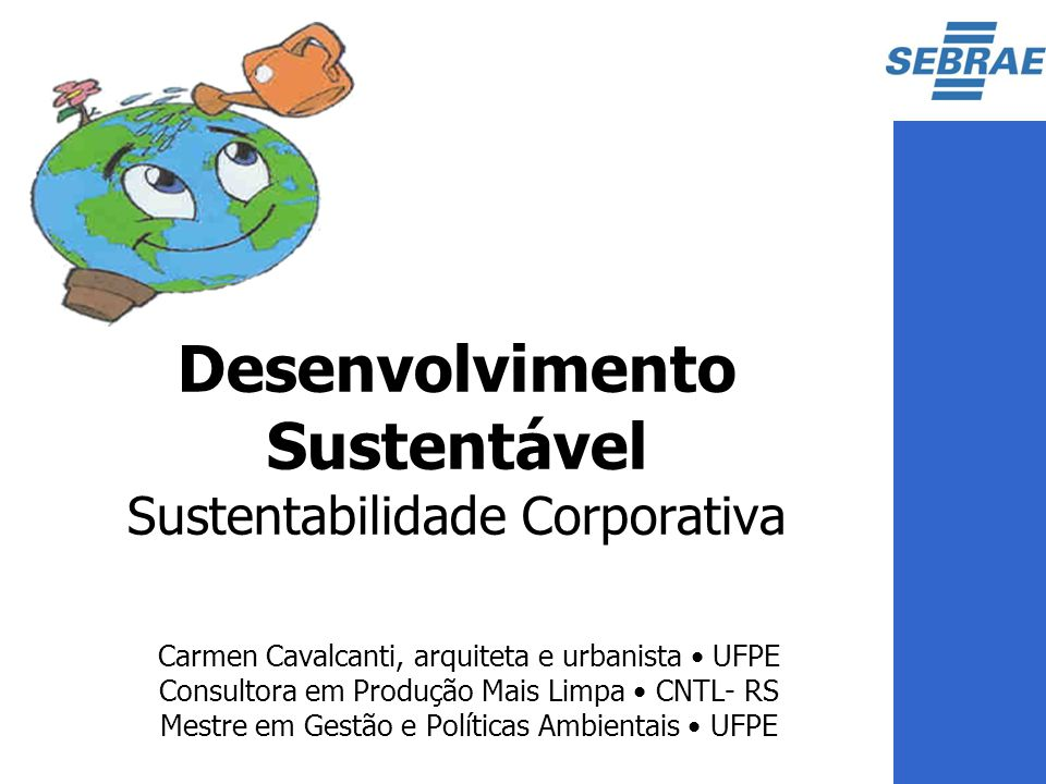 Desenvolvimento Sustentável Sustentabilidade Corporativa