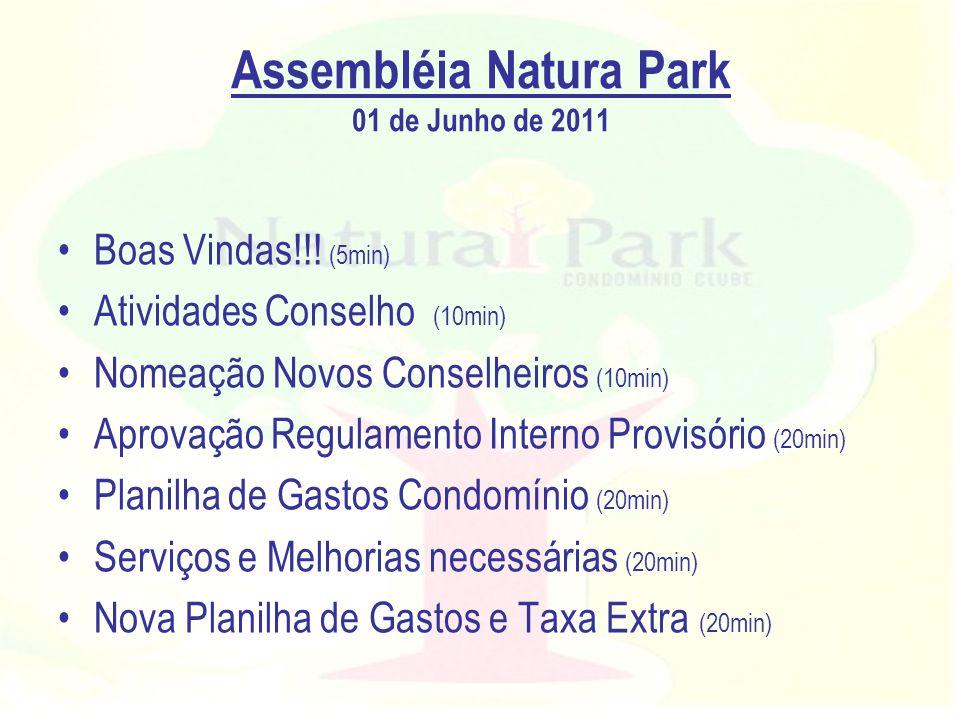 Assembléia Natura Park 01 de Junho de 2011