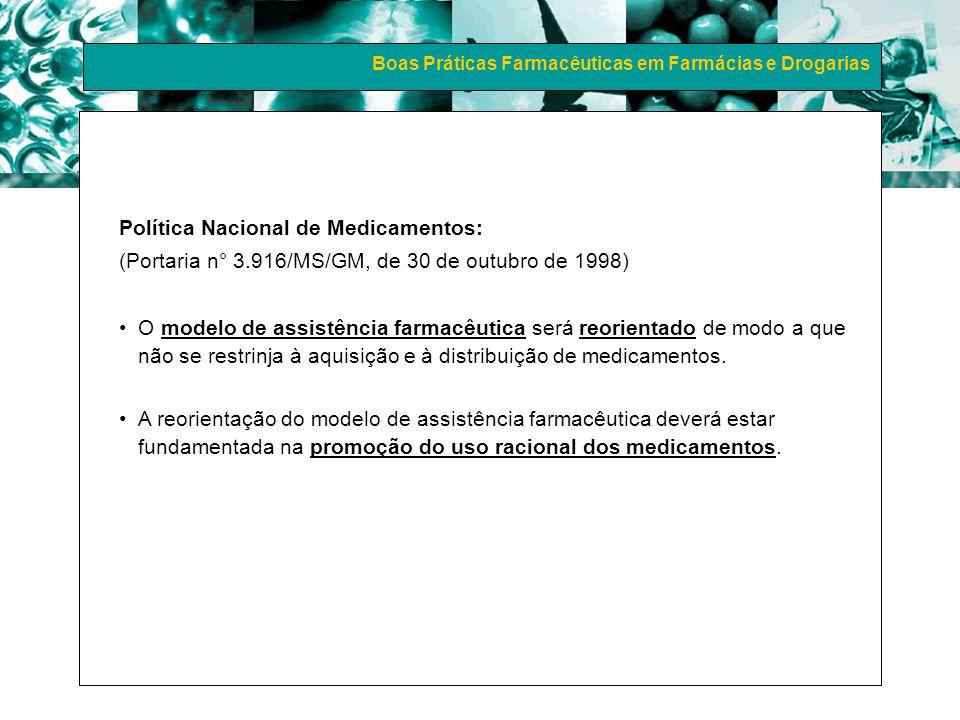 Política Nacional de Medicamentos: