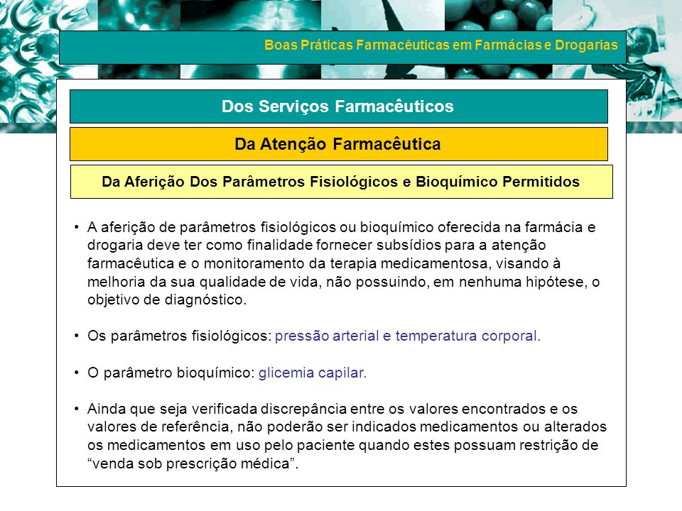 Dos Serviços Farmacêuticos Da Atenção Farmacêutica
