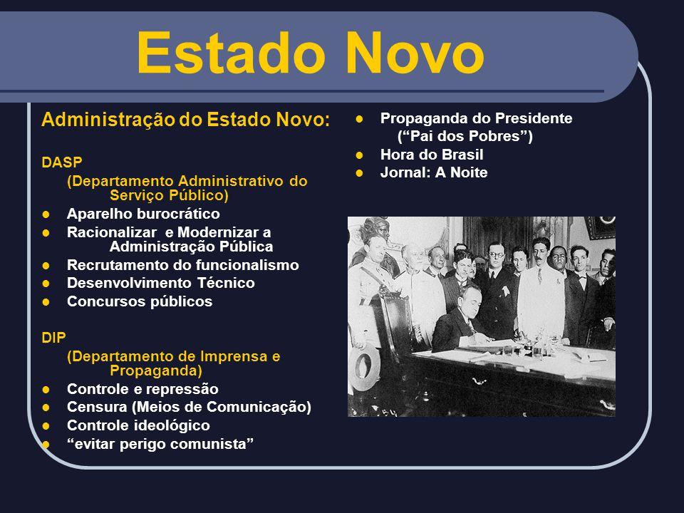 Estado Novo Administração do Estado Novo: Propaganda do Presidente