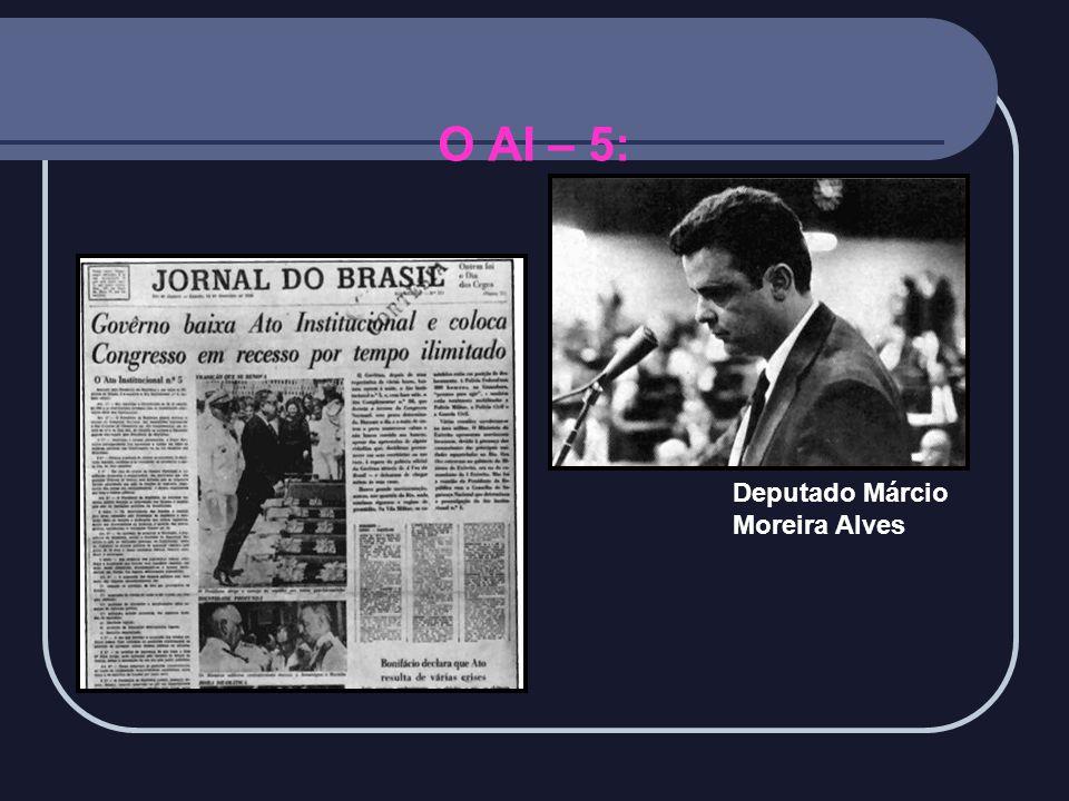 O AI – 5: Deputado Márcio Moreira Alves