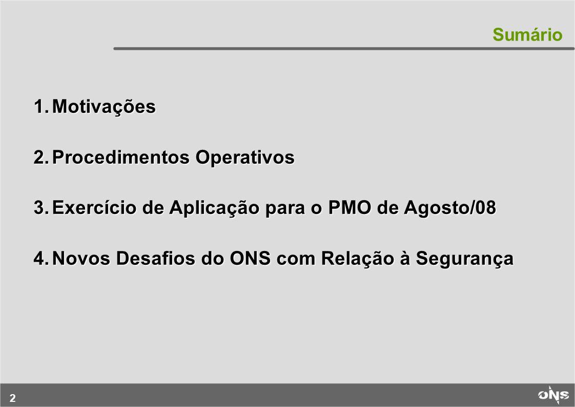Procedimentos Operativos