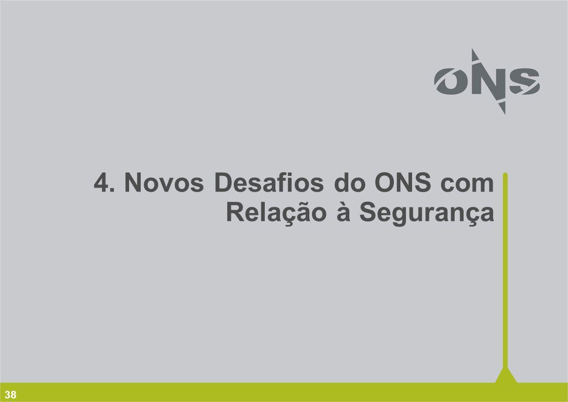 4. Novos Desafios do ONS com Relação à Segurança