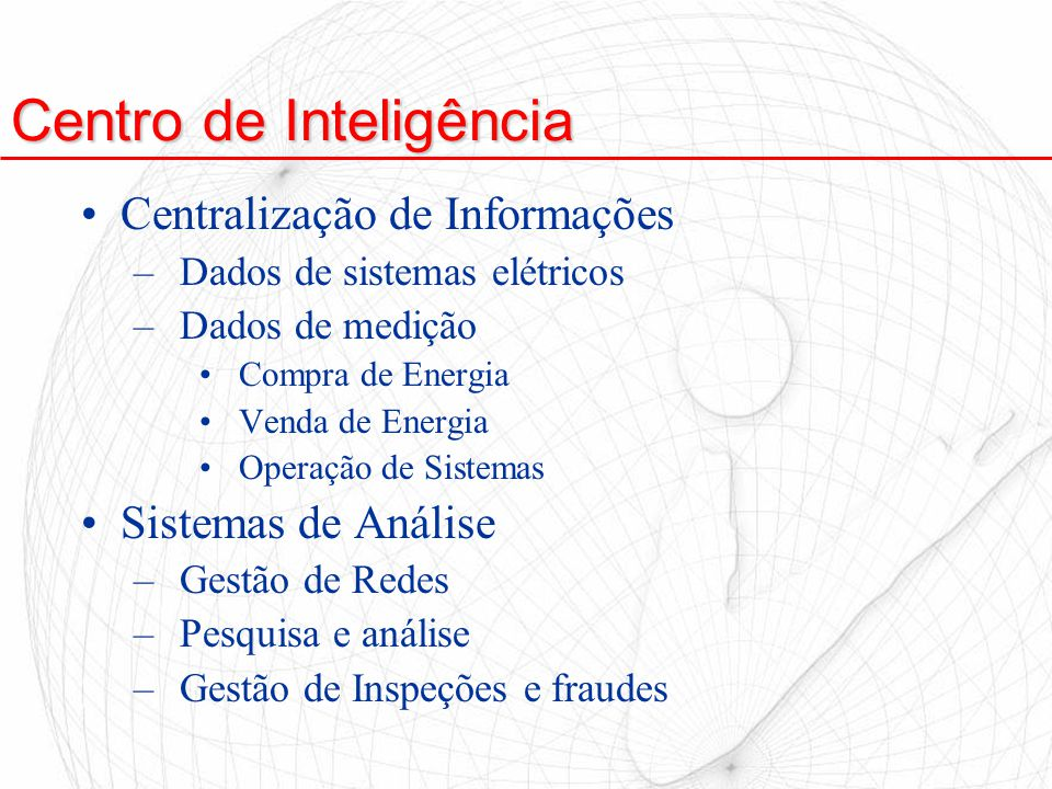 Centro de Inteligência