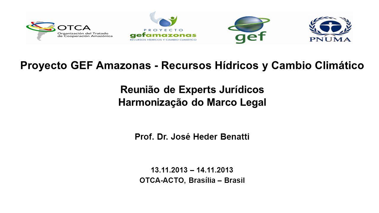C Proyecto GEF Amazonas - Recursos Hídricos y Cambio Climático