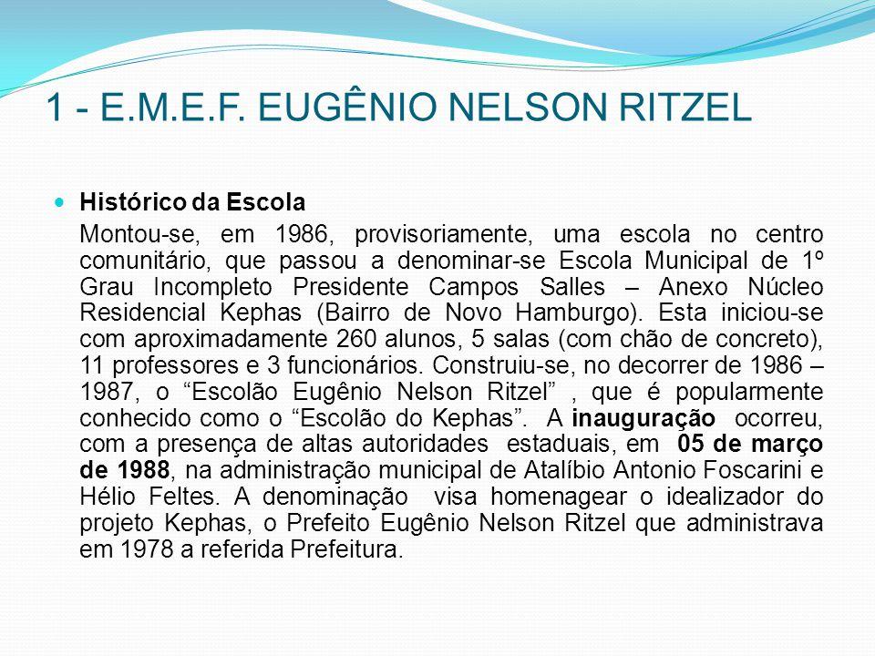 1 - E.M.E.F. EUGÊNIO NELSON RITZEL