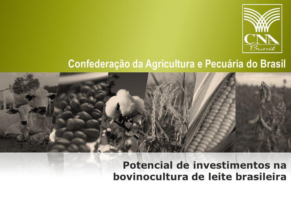 Potencial de investimentos na