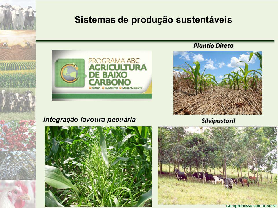 Sistemas de produção sustentáveis