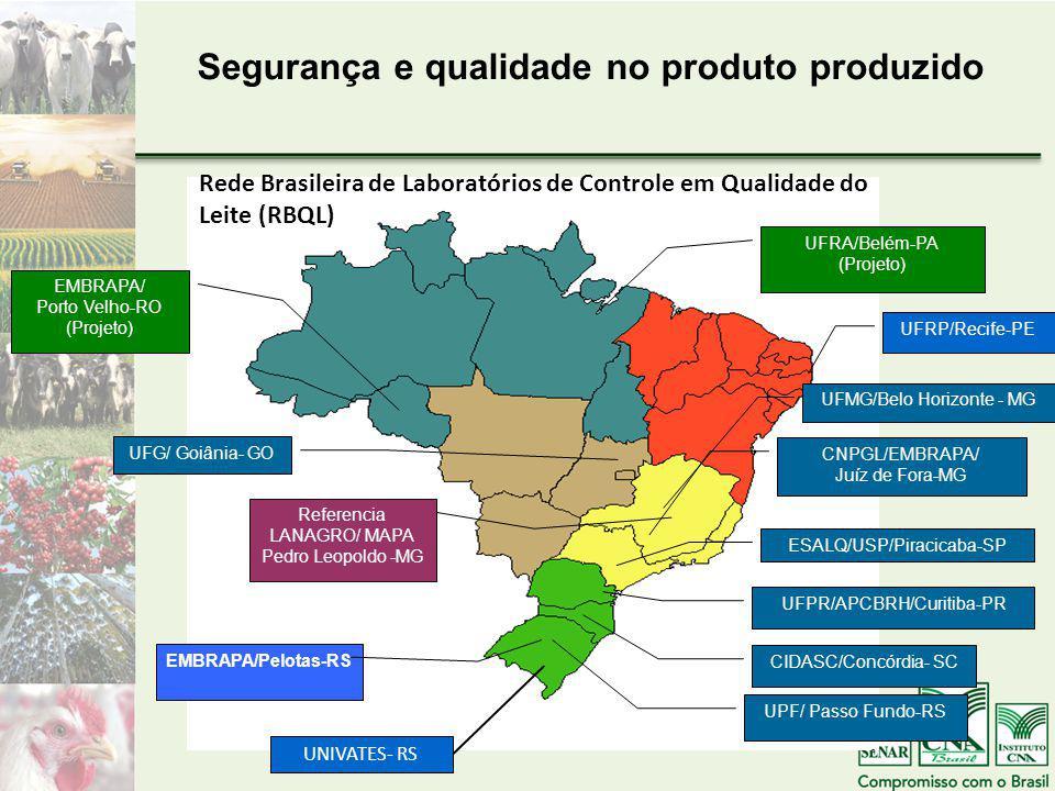 Segurança e qualidade no produto produzido