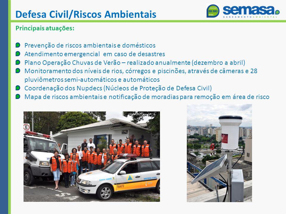 Defesa Civil/Riscos Ambientais