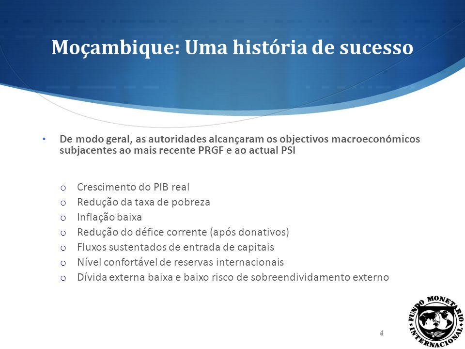Moçambique: Uma história de sucesso