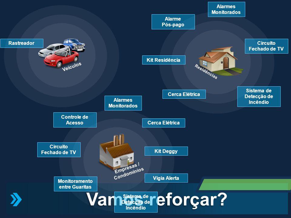 Vamos reforçar Alarmes Monitorados Veículos Alarme Pós-pago