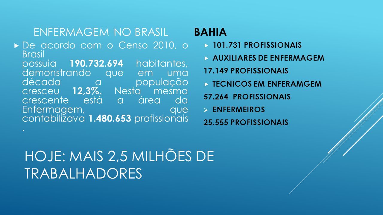 HOJE: MAIS 2,5 MILHÕES DE TRABALHADORES