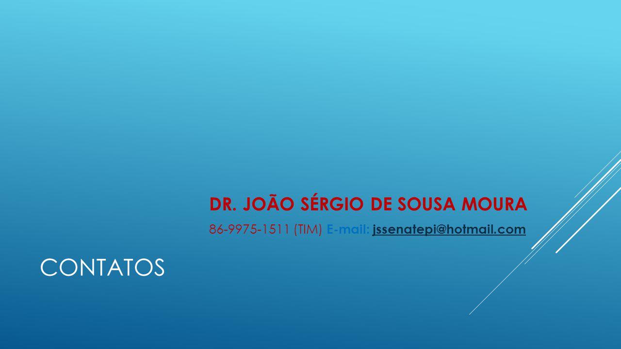 CONTATOS DR. JOÃO SÉRGIO DE SOUSA MOURA